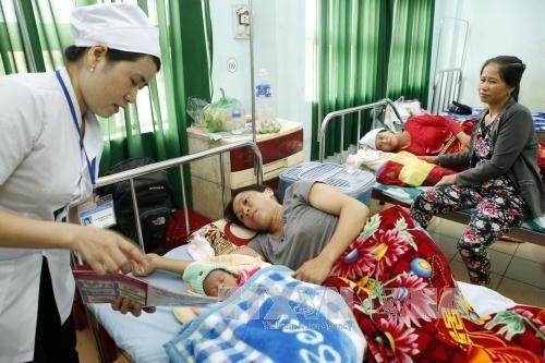越南力争消除艾滋病、乙肝、梅毒母婴传播 hinh anh 1
