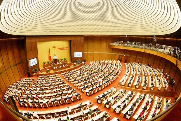 越南第十四届国会五次会议: 国会代表和全国选民对本次会议给予厚望 hinh anh 1