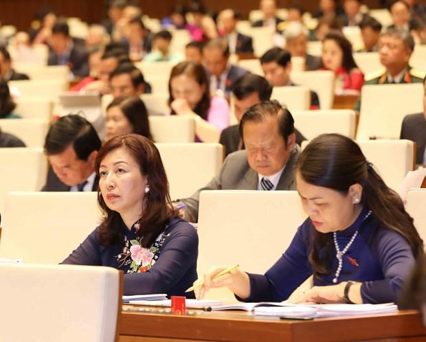 越南第十四届国会五次会议: 国会代表和全国选民对本次会议给予厚望 hinh anh 2