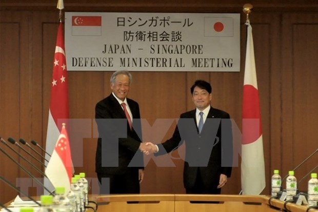 新加坡与日本同意为美朝首脑会议加大配合力度 hinh anh 1