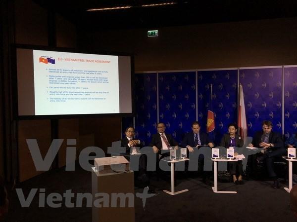 欧洲经济大会:促进越南与欧盟经济发展的强有力动力 hinh anh 1