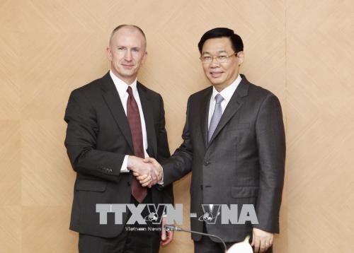 政府副总理王廷惠:经贸合作是越美关系中的核心之一 hinh anh 1