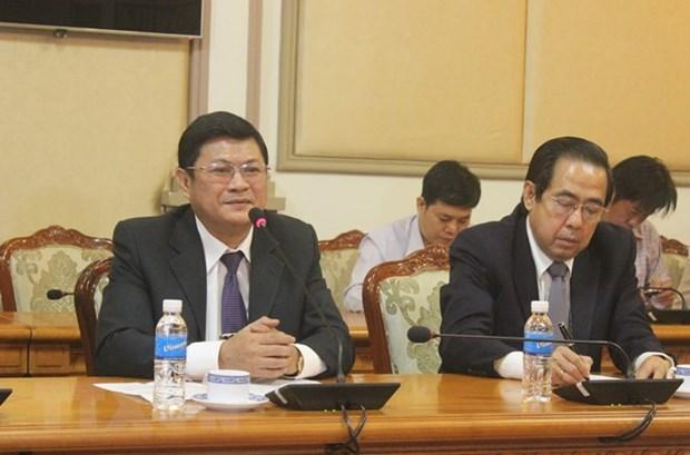 胡志明市建议日本协助该市发展辅助工业 hinh anh 1