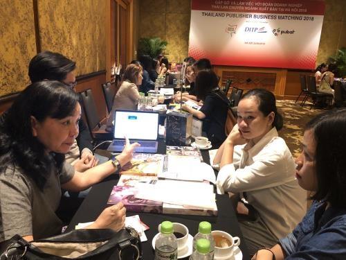 越南与泰国首次在出版领域进行交易 hinh anh 1