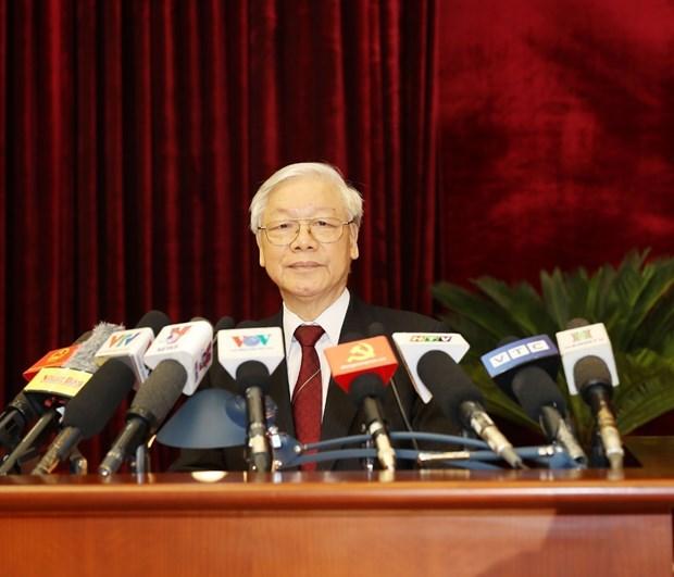 越共十二届七中全会关于薪酬制度改革的决议颁布 hinh anh 1