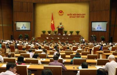 越南第十四届国会第五次会议公报(第三号) hinh anh 1