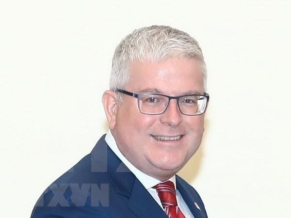 澳大利亚驻越南大使克雷格•奇蒂克:越澳合作关系日益蓬勃发展 hinh anh 1