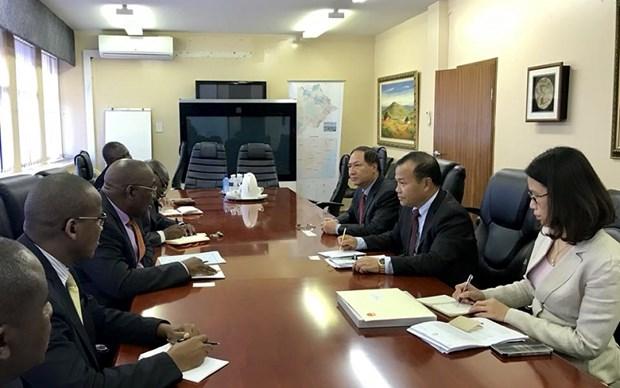 博茨瓦纳希望与越南促进农业、信息技术和卫生领域的合作 hinh anh 1