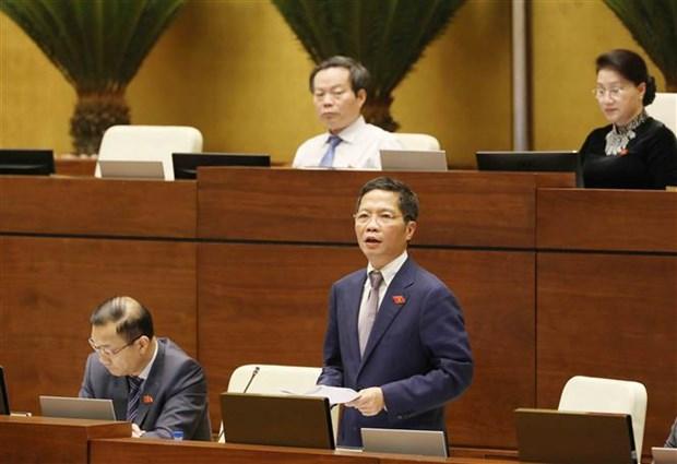 越南第十四届国会第五次会议公报(第四号) hinh anh 1