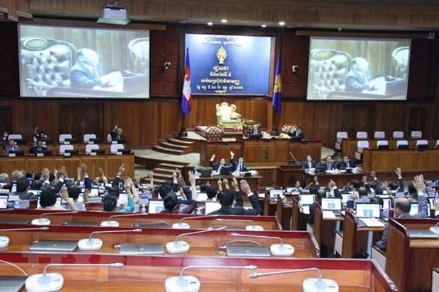 柬埔寨国选委正式承认参加第六届国会选举的政党名单 hinh anh 1