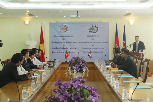 越南与柬埔寨加强教育领域合作 hinh anh 2