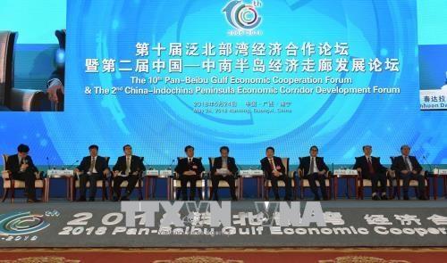 越南出席第十届泛北部湾经济合作论坛 hinh anh 1