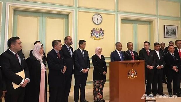 马来西亚新内阁举行第一次会议 hinh anh 1