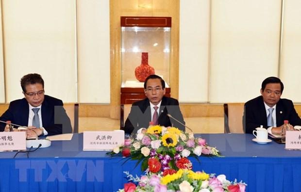 河内市加强与中国北京和上海两市的合作 hinh anh 2