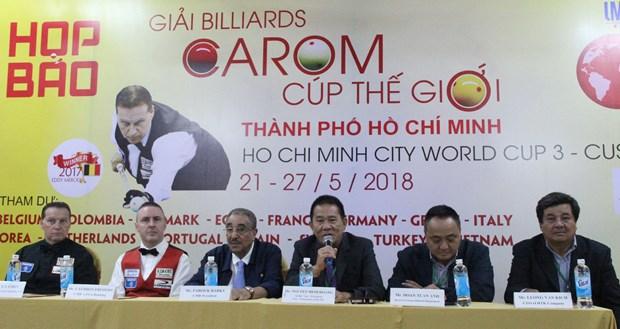 2018年世界杯开伦(三球)台球锦标赛在胡志明市举办 hinh anh 2