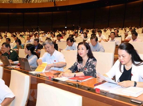 越南第十四届国会第五次会议:调整财政预算管理方式 保障中央财政预算收入 hinh anh 1