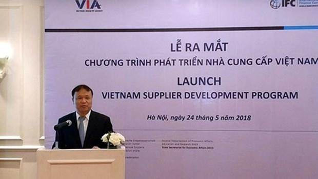 帮助越南企业与跨国公司合作 hinh anh 1