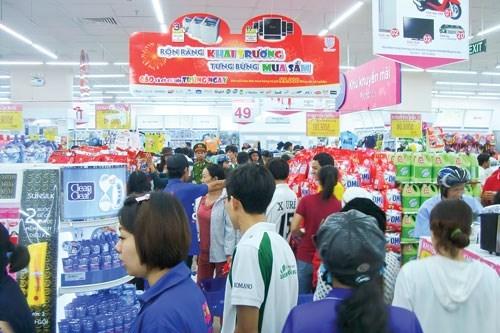 越南零售市场继续吸引外国投资者的目光 hinh anh 2