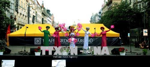 越南在2018布拉格国际文化艺术节获得成功 hinh anh 1