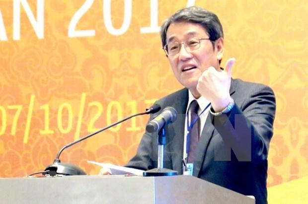 日本驻越南大使梅田邦夫:越南是日本可信赖的伙伴之一 hinh anh 1