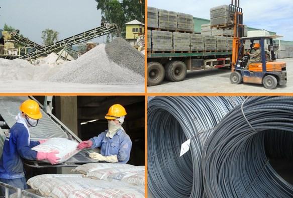 2018年前几个月越南建材市场保持稳定 hinh anh 1