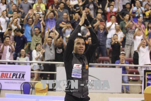 越南选手夺得2018年胡志明市世界杯开伦(三球)台球锦标赛冠军 hinh anh 1