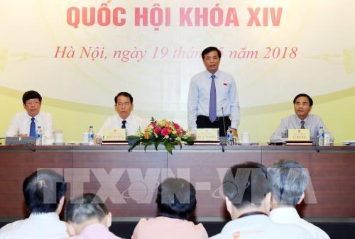 越南第十四届国会第五次会议:质询活动围绕四组问题进行 hinh anh 1