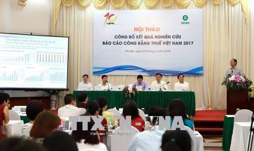 2017年越南税收公平报告出炉 hinh anh 1
