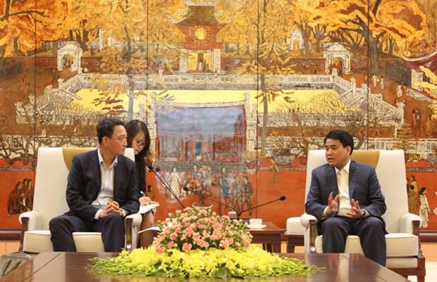 河内市希望与韩国促进投资合作 hinh anh 1