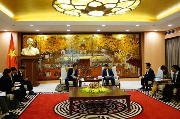河内市希望与韩国促进投资合作 hinh anh 2