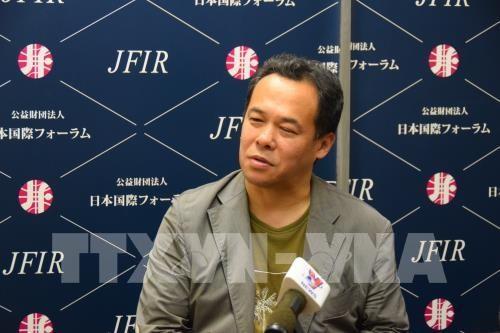 日本专家:越南在越日政治与经济关系中有着十分重要的作用 hinh anh 1