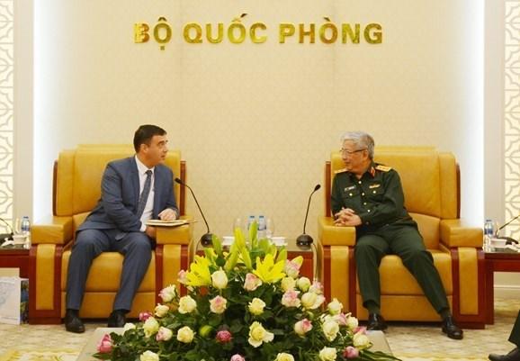 越南希望加强与英国、以色列和南非的防务合作 hinh anh 2