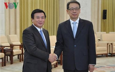 越南十分重视越中全面战略合作伙伴关系 hinh anh 1