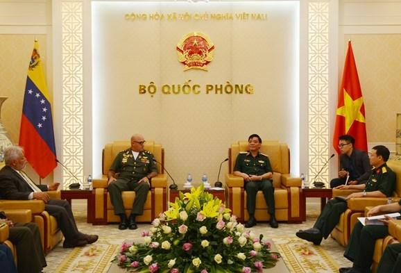 推进越南与委内瑞拉的防务合作 hinh anh 1