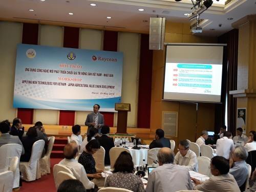 越南采用新技术 打造越日农产品价值链 hinh anh 1