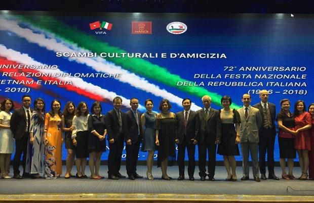 越南与意大利加强友好交流合作 hinh anh 2