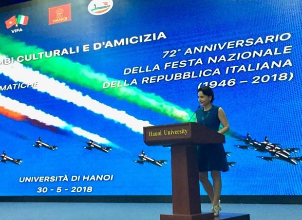 越南与意大利加强友好交流合作 hinh anh 1