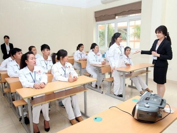 德国在越开展的执业护士培训项目(试行)取得成功 hinh anh 1