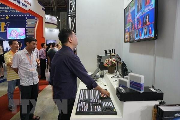 国内外150多个单位报名参加2018年越南电影与电视科技国际展览会 hinh anh 1