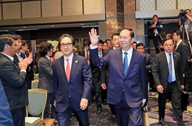 陈大光主席:越南高度评价在越日企的纪律意识、现代科技和企业文化 hinh anh 2
