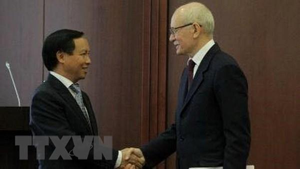 俄罗斯巴什科尔托斯坦共和国愿与越南各地方加强合作关系 hinh anh 1