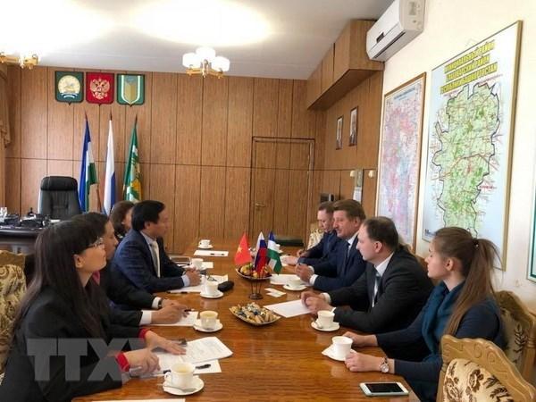 俄罗斯巴什科尔托斯坦共和国愿与越南各地方加强合作关系 hinh anh 2