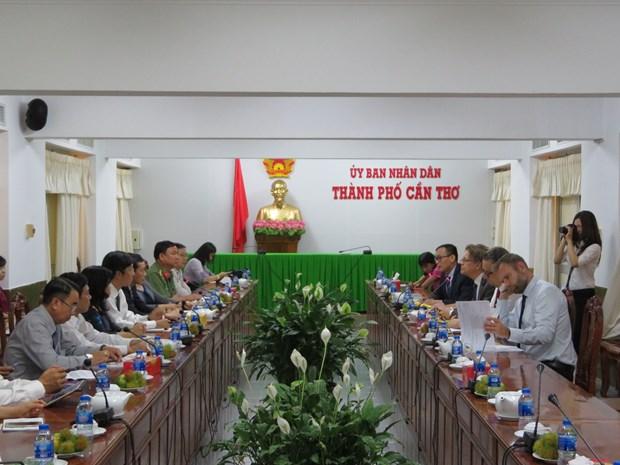 北欧四国希望促进与越南芹苴市的经贸与投资合作发展 hinh anh 1