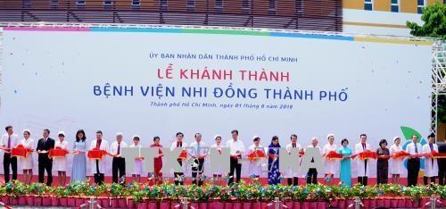越南最先进的儿童医院现身胡志明市 hinh anh 1