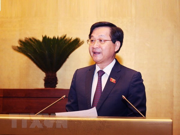 第十四届国会第五次会议:国会代表支持扩大《反腐败法》适用范围 hinh anh 1