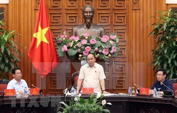 政府总理阮春福:将榕桔炼油厂发展成为国家炼油和能源中心 hinh anh 1