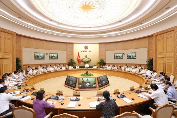 阮春福:前五月越南经济社会发展基本面是好的 hinh anh 3