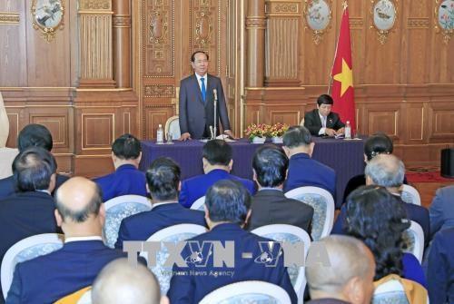 越南国家主席陈大光圆满结束对日本进行的国事访问 hinh anh 1