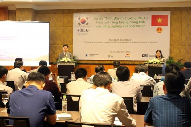 韩国向越南提供190万美元的援助 用于开展越南节能项目 hinh anh 1
