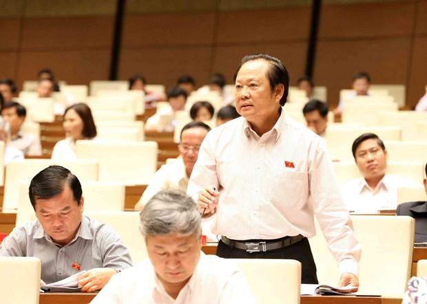 越南第十四届国会第五次会议公报(第十一号) hinh anh 1